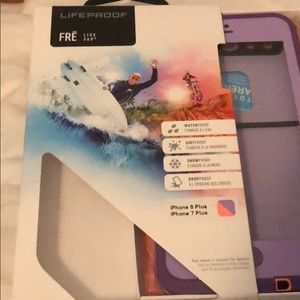 FRE Lifeproof case IPhone 7 and 8 plus